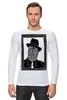 """Лонгслив """"DeadBroke"""" - арт, man, стиль, рисунок, hat, tie, алина макарова"""