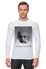 "Лонгслив ""Эйнштейн"" - science, albert einstein, физика, эйнштейн"