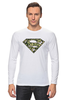 """Лонгслив """"Superman - камуфляж"""" - superman, россия, камуфляж, camo"""