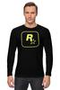 "Лонгслив ""Rockstar Staff T-Shirt"" - rockstar, rockstar games"