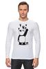 "Лонгслив ""Панда вандал"" - wwf, вандал, животные, панда, panda"