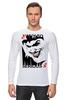 """Лонгслив """"JOKER"""" - joker, карта, джокер, улыбка, готэм"""