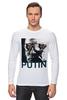 "Лонгслив ""Путин"" - россия, обама, путин, putin, go hard"