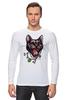 """Лонгслив """"Пантера"""" - кот, кошка, пантера, black cat, panther, tm kiseleva"""
