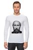 "Лонгслив ""Путин с бородой"" - путин, борода, putin"