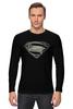 "Лонгслив ""Супермен (Superman)"" - супермен, superman"