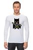 """Лонгслив """"Бэтмен (Batman)"""" - бетмен, бэтмен, batman"""