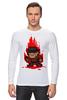 "Лонгслив ""Freddy Krueger (8-bit)"" - пиксель арт, pixel art, фредди крюгер, freddy krueger, 8-бит"