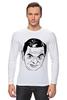 """Лонгслив """"футболка """"Мистер Бин"""""""" - прикол, портрет, мистер бин"""