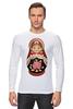 "Лонгслив ""Матрешка"" - матрешка, матрёшка, russian doll, символ россии"