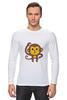 """Лонгслив """"Мартышка"""" - мартышка, monkey, макака"""