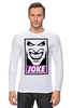 "Лонгслив ""Джокер (Joke)"" - joker, batman, джокер, бэтмен, obey"