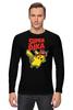 """Лонгслив """"SUPERPIKA"""" - игры, аниме, пикачу, super mario, супер марио, pikachu"""