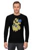 """Лонгслив """"Golden Freddy"""" - жёлтый медведь, five nights at freddy's, пять ночей у фредди"""