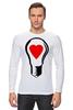 "Лонгслив ""BIG LAMP! SWITCH ON YOUR LOVE!"" - сердце, любовь, lamp, zogs, switch on your love"