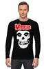 """Лонгслив """"Misfits """" - skull, череп, punk rock, misfits, панк"""