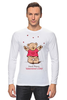 """Лонгслив """"Happy Valentnine's Day"""" - bear, медведь, мишка, обними меня, hug me"""