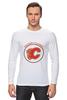 """Лонгслив """"Calgary Flames"""" - хоккей, nhl, нхл, калгари флеймз, calgary flames"""