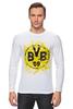 """Лонгслив """"боруссия дортмунд"""" - логотип, германия, боруссия, дортмунд"""