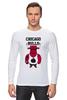 "Лонгслив ""Chicago Bulls"" - баскетбол, bulls, chicago bulls, чикаго буллз, быки"