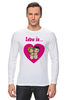 "Лонгслив ""love is..."" - heart, i love, love is"