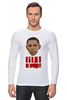 """Лонгслив """"Обама не пройдет! """" - обама, сша, украина, крым, санкции, майдан"""