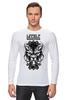 "Лонгслив ""Lycanthrope"" - арт, мандала, волк, оборотень, wolf, werewolf, вензель, mandala"