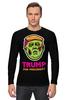"Лонгслив ""Трамп зомби"" - zombie, зомби, трамп, trump, дональд трамп"