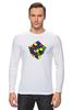 "Лонгслив ""Кубик рубика "" - арт, игра, ретро, rubik's cube"