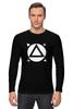 "Лонгслив ""tracker t-shirt"" - кино, tracker, зеленый экран, keing, tracking"