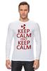 """Лонгслив """"Keep calm"""" - карлсон, спокойствие, keep calm, пропеллер, советские мультфильмы"""