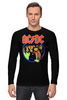 """Лонгслив """"AC/DC """" - hard rock, acdc, ac-dc, хэви метал, эйси диси"""