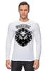 """Лонгслив """"WILD & FREE"""" - кредо, wild, лев, lion, девиз"""