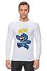 "Лонгслив ""Super Mario (Mega Man)"" - nintendo, марио, mario bros"