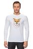 """Лонгслив """"Маленькая хитрость"""" - арт, лето, рисунок, fox, лиса"""