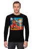 """Лонгслив """"Basquiat/Жан-Мишель Баския"""" - граффити, корона, snoopy, basquiat, баския"""