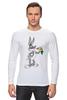 """Лонгслив """"Кролик Роджер"""" - смешное, мультик, герой, кролик, детское"""