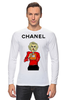 "Лонгслив ""Chanel"" - прикол, юмор, духи, fashion, perfume"