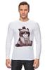 """Лонгслив """"Котик НЕТ"""" - кошка, grumpy cat, сердитый котик, соус тардар"""