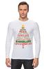 """Лонгслив """"Christmas Tree"""" - новый год, звезда, рождество, new year, christmas, christmas tree, 2015"""