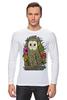 """Лонгслив """"Сова"""" - животные, сова, owl, forest"""