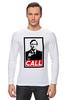 "Лонгслив ""Лучше звоните Солу (Better Call Saul)"" - obey, call, better call saul, лучше звоните солу"