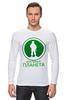 """Лонгслив """"Вежливая планета"""" - армия, россия, логотип, вежливые люди, ратник"""