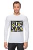 """Лонгслив """"RUN DMC"""" - rap, цветы, нью-йорк, хип-хоп, run, dmc, nyc, run dmc, ран ди-эм-си"""