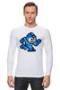 "Лонгслив ""Mega Man (8-bit)"" - 8-бит, 8-bit, mega man"