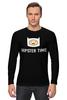 "Лонгслив ""Hipster time"" - adventure time, время приключений, hipster, finn"