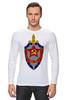 "Лонгслив ""КГБ "" - звезда, ссср, кгб, эмблемма, щит и меч"