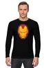 "Лонгслив ""Железный человек"" - мстители, iron man, tony stark, железный"