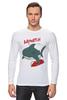 "Лонгслив ""Акула (Baywatch)"" - акула, shark, спасатели малибу, baywatch"