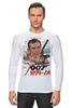 """Лонгслив """"Dr No """" - 007, кино, иероглифы, james bond, джеймс бонд"""